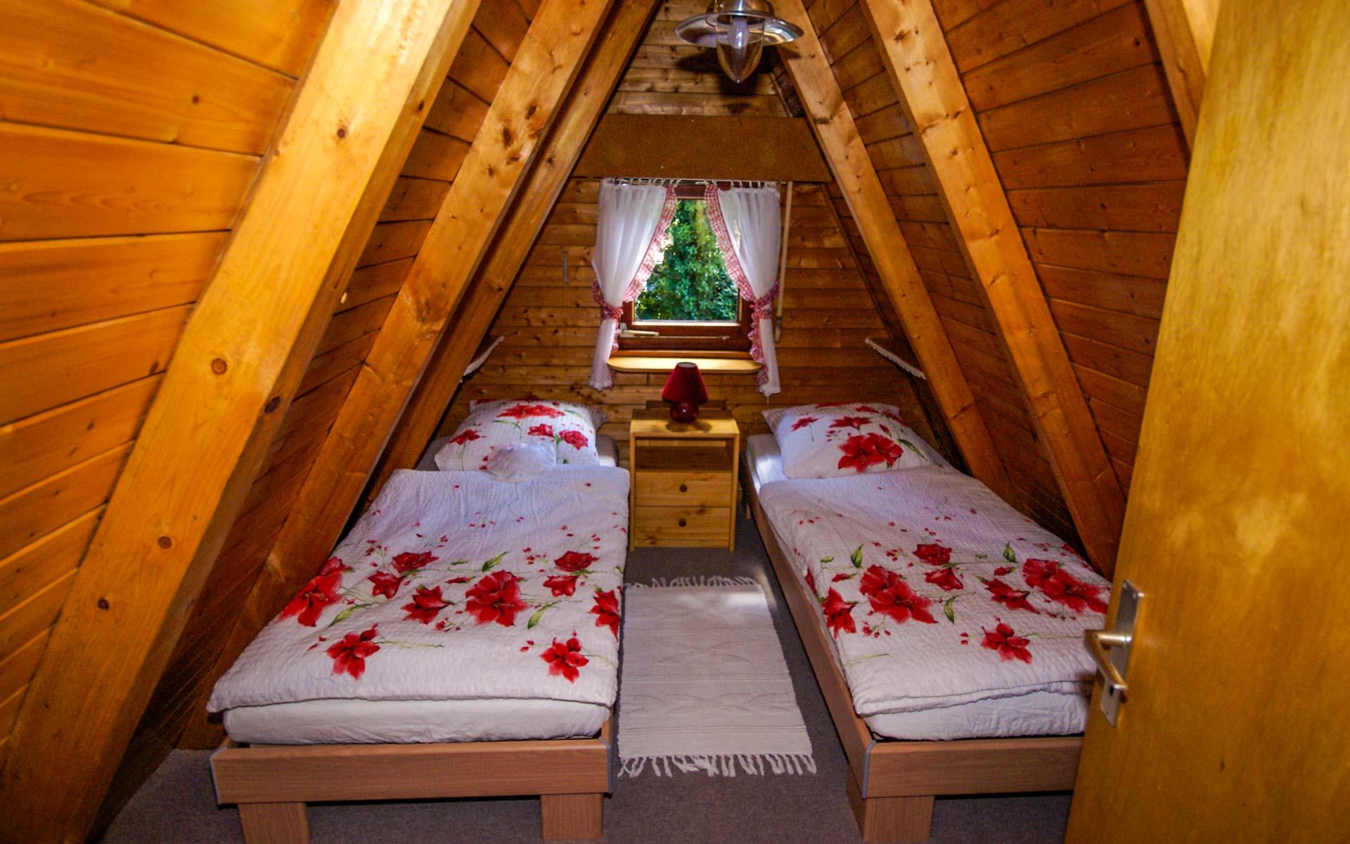 Schlafzimmer Ferienhaus Conneforde