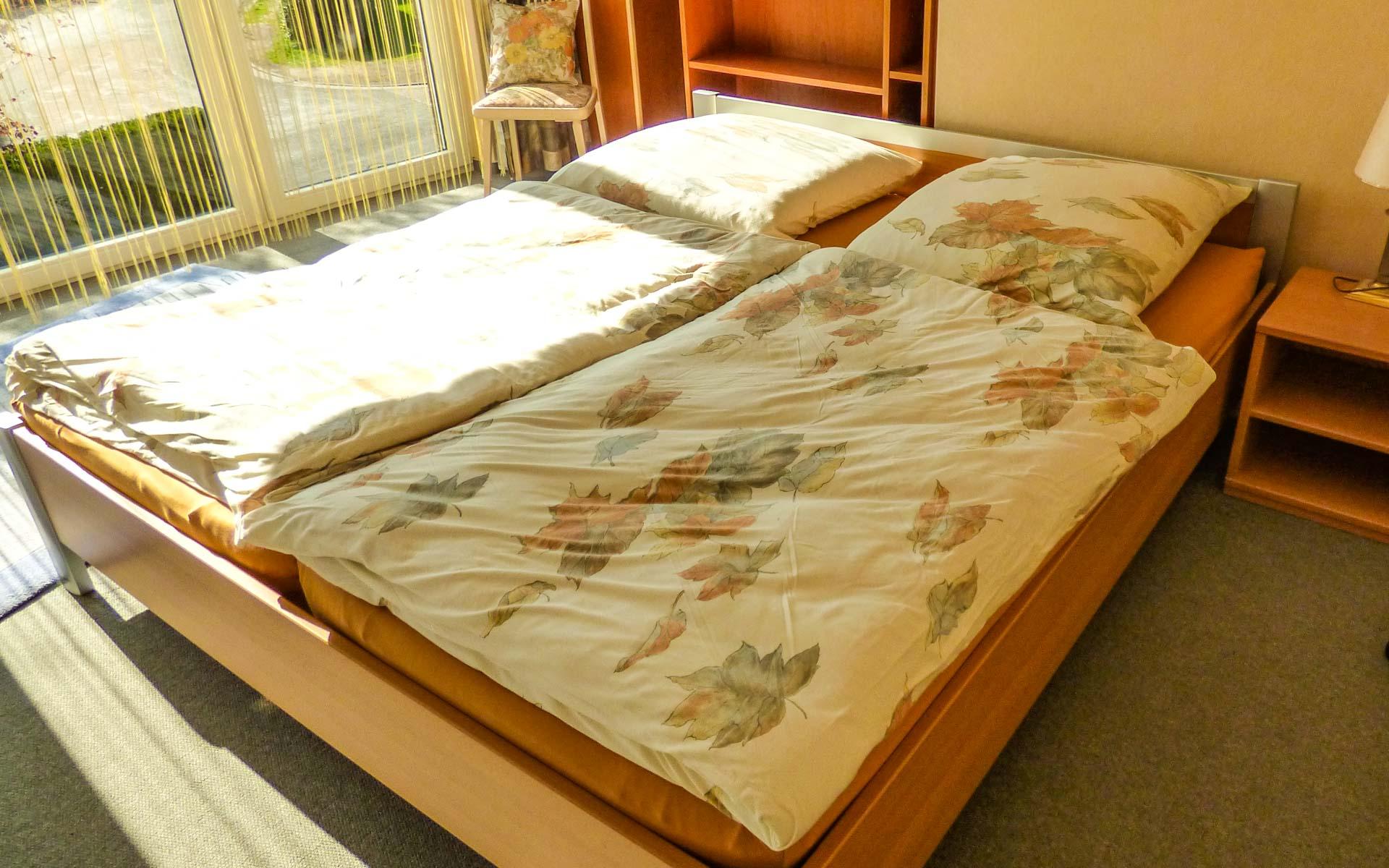 Schlafzimmer Ferienwohnung Oldenburg