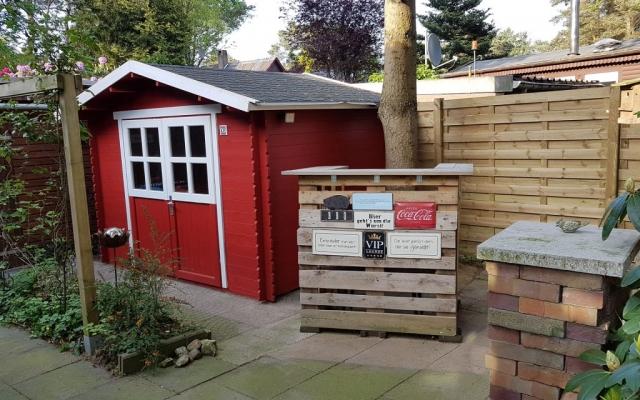Garten Ferienhaus Conneforde