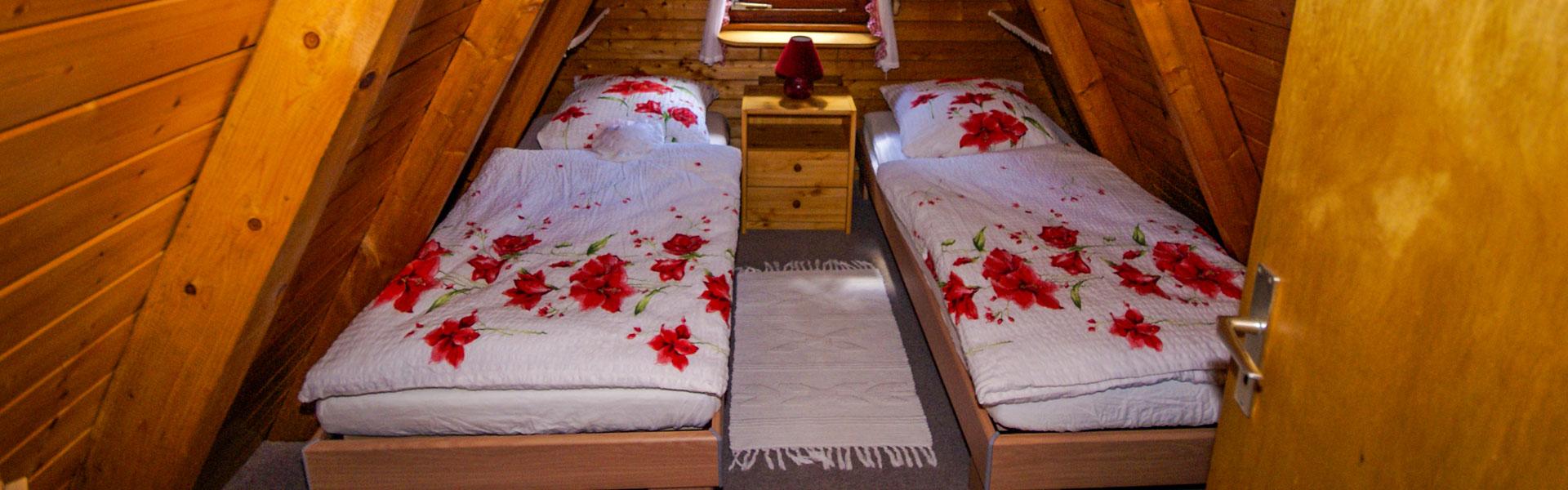 Fisbeck Ferienhaus Conneforde Schlafzimmer