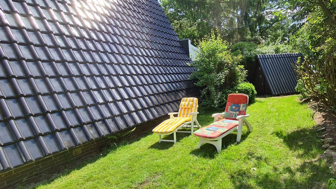 Conneforde: Garten